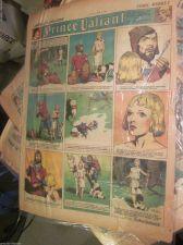 Buy Sunday Newspaper Comics: PRINCE VALIANT Sun. April 25th, 1943 GoldenAge H FOSTER