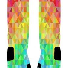 Buy Prism soft Custom Basketball Nike Elite Socks (Large 8-12)