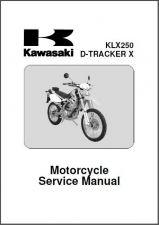 Buy 09-12 Kawasaki KLX250 / D-Tracker X Service Repair Manual CD --- KLX 250