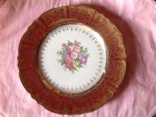 Buy Vintage Dinner Plate Homer Laughlin Heavy Gold & Roses