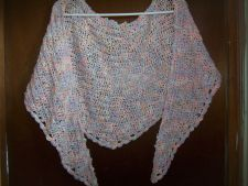 Buy Hand Crocheted Berroco Dante Pastel Ombre Woman's Teens Lacy Scarf Shawl Wrap