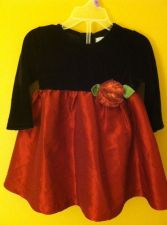 Buy The Childrens Place Red holiday dress Sz12m