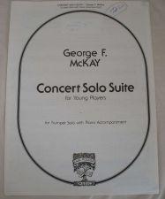 Buy Concert Solo Suite - McKay - Trumpet Solo