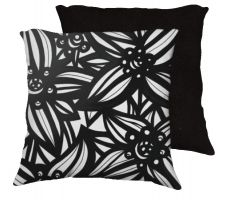 Buy Pezzulo 18x18 Black White Pillow Flowers Floral Botanical Cover Cushion Case Throw Pi