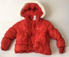 Buy Gymboree Cozy Cutie Girls Size 4t 5t Coat Jacket Red Puff Faux