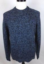 Buy J Crew Sweater Mens M Blue Wool Long Sleeve