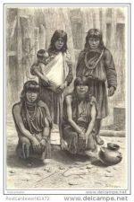 Buy ECUADOR - PARINARI INDIANS - engraving from 1883