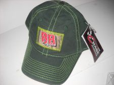 Buy Green Chase Nascar 88 hat collectable tagged yellow stitching camo inside