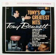 Buy TONY BENNETT ~ Tony's Greatest Hits 1962 Pop LP / Near Mint
