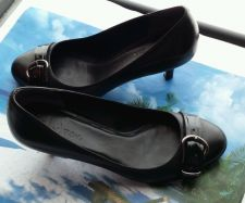Buy COLE HAAN AIR LAINEY WOMEN'S BLACK HIGH HEEL SHOES SIZE 6B