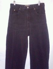 Buy EUC women's sz. 12R CHAMONIX black denim jeans