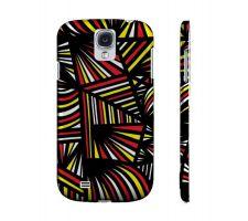 Buy Shollenbarger Yellow Red Black Samsung Galaxy S4 Phone Case
