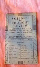 Buy SCIENCE OF THOUGHT REVIEW Applied Right Thinking Henry T. Hamblin August 1951