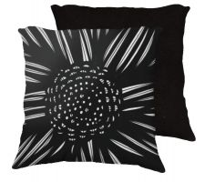 Buy Dorson 18x18 Black White Pillow Flowers Floral Botanical Cover Cushion Case Throw Pil