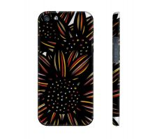 Buy Paskert Yellow Red Black Flowers Floral Botanical Iphone 5/5S Phone Case