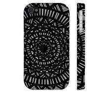 Buy Locatelli Black White Iphone 4/4S Phone Case