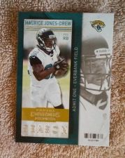Buy Maurice Jones · Drew 2013 PANINI Contenders #54 Jacksonville Jaguars NM-MT