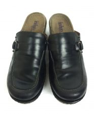 Buy Clarks Shoes Womens 8 Black Leather Heels