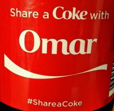 Buy 2015 Share a Coke With Omar 20oz Collectible, Unopened Fast Shipping