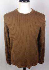 Buy J Crew Sweater Mens L Brown Wool Long Sleeve
