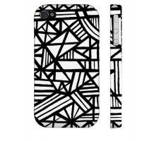 Buy Genet Black White Iphone 4/4S Phone Case