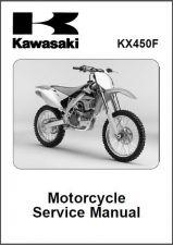 Buy 06-08 Kawasaki KX450F Service Repair Workshop Manual CD ..- KX 450 F KX450 450F