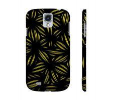 Buy Krallman Yellow Black Samsung Galaxy S4 Phone Case