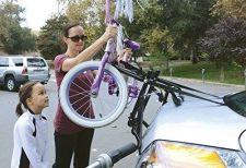 Buy 2-Bike carrier Trunk Mount Rack ,Deluxe,Sturdy, travel ease