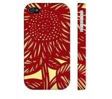 Buy Strahl Yellow Red Iphone 4/4S Apple Phone Case Flowers Botanical