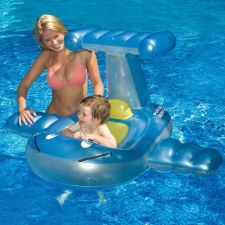Buy Baby Inflatable Airplane Swimming Float Infant Water Fun New