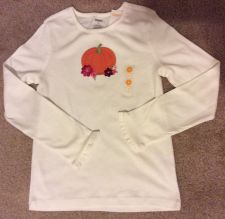 Buy Girl's Gymboree Woodland Friends L/S White Shirt Size 9