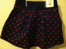 Buy Gymboree Homecoming Kitty Polka Dot Corduroy Skirt Size 6