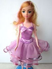 Buy PURPLE BALLERINA BALLET TUTU HANDMADE COSTUMES FOR BARBIE DOLLS DRESS UP CLOTHES