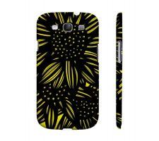 Buy Dowell Yellow Black Samsung Galaxy S3 Phone Case Flowers Botanical