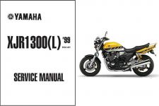 Buy 1999-13 Yamaha XJR1300 Service Repair Workshop Manual CD -- XJR 1300