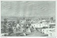 Buy KHURDISTAN - VAN CITY & INTZAKIARS MOUNTAINS - engraving from 1889