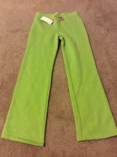 Buy Gymboree Growing Flowers Green Soft Knit Sweat Pants Dangle Flowers Size 9