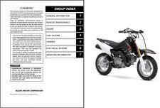 Buy 08-09 Suzuki DR-Z70 Service Repair Workshop Manual CD .... - DRZ70 DR Z 70