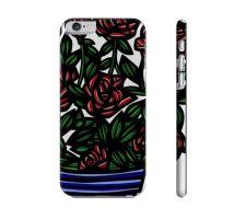 Buy Devilla Red Blue Flowers Floral Botanical Iphone 6 Phone Case