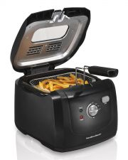 Buy NEW Hamilton Beach Deep Fryer Basket Cooker Cool Touch Black
