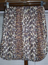 Buy VANITY FAIR VINTAGE LEOPARD MULTI COLOR NYLON HALF SLIP MOD DISCO 70's ERA med