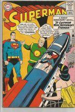 Buy SUPERMAN #170 DC COMICS 1964 Silver Age Fine JOHN KENNEDY Lex Luther Brainiac