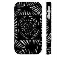 Buy Legier Black White Iphone 4/4S Phone Case