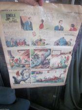 Buy FLASH GORDON Nov. 8, 1936 Original Sun. Newspaper Strip Alex Raymond JUNGLE JIM+