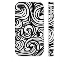 Buy Hoy Black White Iphone 4/4S Phone Case