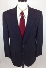 Buy Kilgour French & Stanbury Blazer 40 R Mens Navy Blue Wool Jacket