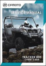 Buy CFMoto U8 CF800-3 Tracker 800 4X4 UTV Service Repair Manual CD