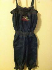 Buy Rocawear Denim Blue Jean Pants Jumper Toddler Girls Size 24 Months