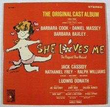 Buy SHE LOVES ME ~ 1963 Original Cast Album / Stereo DOUBLE LP