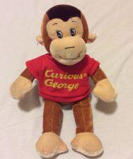 "Buy Curious George Plush Animal Toy ""14"" Stuff Soft"
